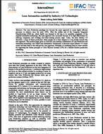 مقاله ترجمه شده با عنوان خودکارسازی و اتوماسیون ناب از طریق فن آوری های صنعت 4.0، به همراه اصل مقاله